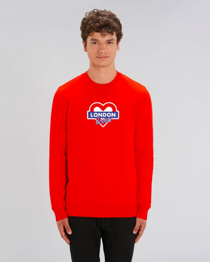 Sweat-homme-rouge-london-love