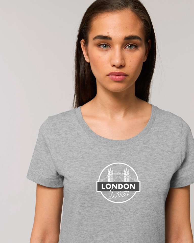 T-shirt-gris-femme-tower-bridge