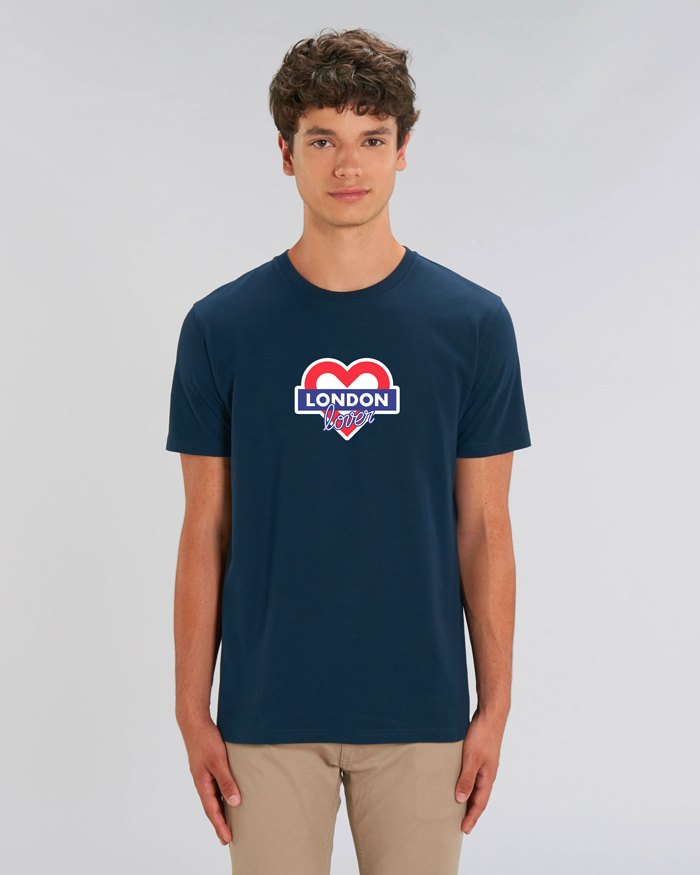 T-shirt-homme-bleu-london-love
