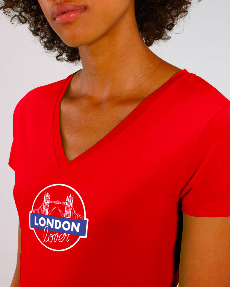 T-shirt-rouge-colv-tower-bridge-femme