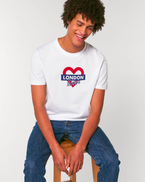 t-shirt-blanc-homme-london-love